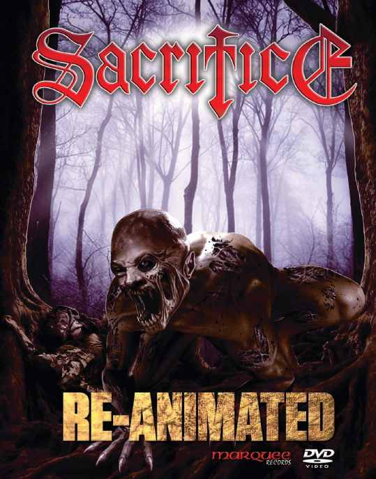 SACRIFICE - Re-Animated (2DVD)