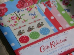 Cath Kidston/Mix & Match Stationery<rose>(レターセット)