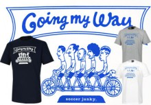 SJK1019 JERRY Football 『 Going my way 』 Tシャツ