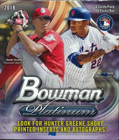 MLB 2018 BOWMAN PLATINUM COLLECTOR BOX(送料無料)